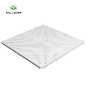 Motif perforé de vente chaude de l'Imitation du rouleau de revêtement du panneau au plafond