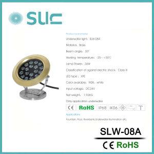 indicatore luminoso subacqueo della piscina LED di 23W IP68 (SLW-08A)