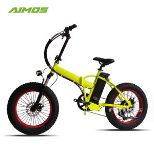 La grasa de mejor venta de alta calidad de los neumáticos de bicicleta Foding eléctrico