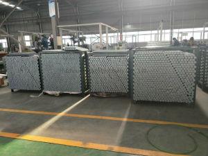 Acero galvanizado o acero inoxidable y aluminio gravedad Medium Heavy Duty de rodillo transportador flexible sistema de transporte