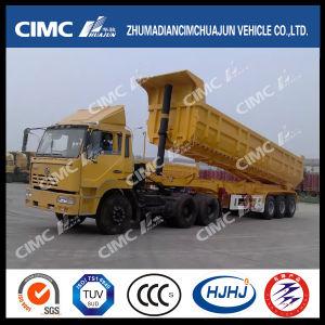 Cimc Huajun 3U do eixo de carga do reboque