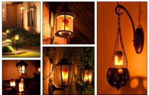 G4 Lâmpada de chama de efeito chama a lâmpada LED para decoração
