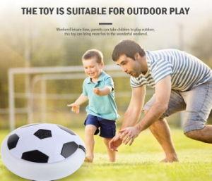 El fútbol asombroso del aire de la bola de la libración con las luces y el amortiguador de aire universal eléctrico/el fútbol vendedor caliente del aire