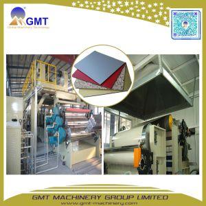 ACP Feuille de plastique en aluminium panneau composite de la plaque de la machinerie de l'extrudeuse