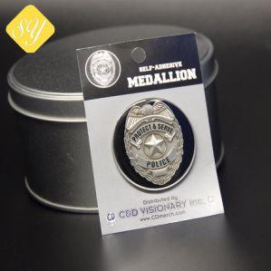 最もよい品質によってめっきされる各国用の錫の金属の軍隊の憲兵のバッジ
