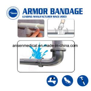 Arrestare un nastro Emergency provvisorio della vetroresina di riparazione del tubo della perdita