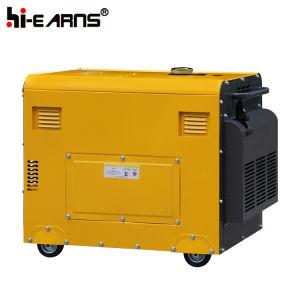 3kVA 침묵하는 유형 디젤 엔진 발전기 고정되는 가격 (DG3500SE)