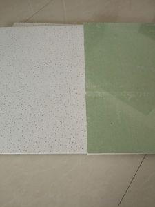 Conseils de plafond en fibre minérale /Panneaux de plafond en fibre minérale/fibre minérale les dalles de plafond, 600x600mm