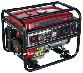 Venda a quente 9000W Portable Baixo ruído de geradores de gasolina utilizada em casa