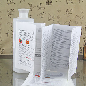 安いアートペーパーのカスタマイズされた製品の使用説明書