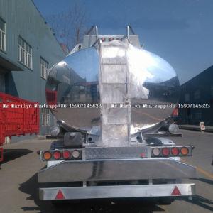 알루미늄 탱크 트레일러, 판매를 위한 기름 트레일러, 디젤 엔진 유조선
