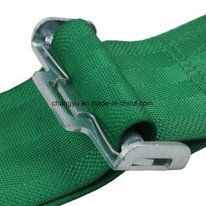 Cinto de segurança de liberação rápida de 3 polegadas do chicote de corridas de 4 Pontos