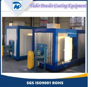 Os equipamentos de pintura a pó com tratamento prévio de Pulverização