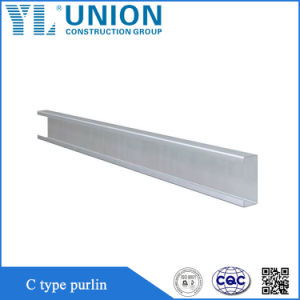 D'Acier utilisé C formé à froid en acier profilé Purline