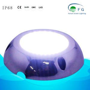 Мини-Size 90мм 6W 316 из нержавеющей стали светодиод поверхностного бассейн лампа