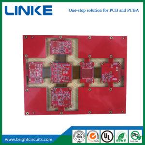 Kundenspezifische beste QualitätsRoHS preiswerte Hauptleitung Schaltkarte-grüne einfache Leiterplatte, die China bildet