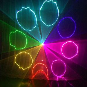il colore DMX DJ di 6W Chang organizza la luce laser