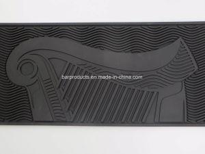 De reclame van de TegenMat van de Staaf van pvc van het Embleem van Guiness met de Prijs van de Fabriek