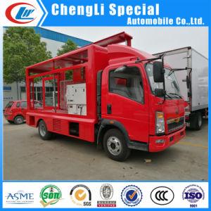 トラックのLED表示トラックを広告するLEDの移動式段階