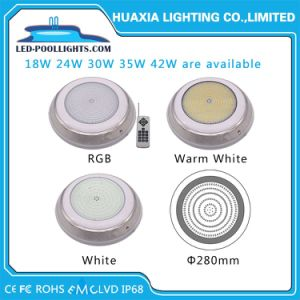 Resistente al agua IP68 AC12V 24W LED llenos de resina de la luz de la Piscina