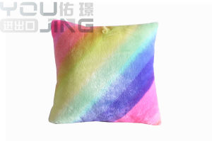 박제 동물 다채로운 직물 양 견면 벨벳 베개 장난감