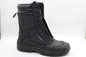 Полное зерно из натуральной кожи композитный Toe-Cap и кевларовые ближнем единственной Обувь/защитные ботинки Ax03140