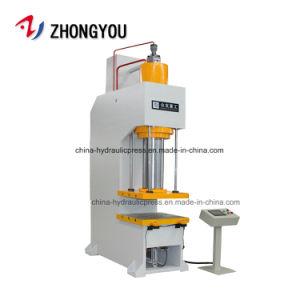 Barato en una única columna CNC Prensa hidráulica Máquina 100 ton.