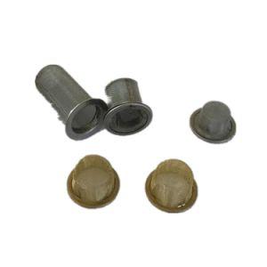 12mm 15mm Tabagismo Taça do tubo do filtro de tela da esfera da rede de metal para fumar Tubo de pedra de vidro