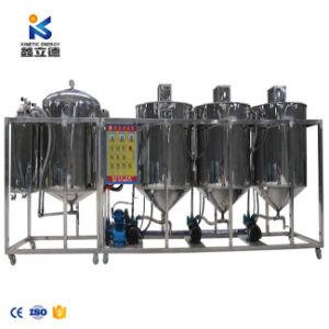 El ahorro de energía Refinería de Petróleo de pequeña maquinaria de proceso de palma de aceite refinado de aceite comestible máquina