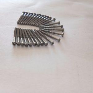 Небольшие винты из нержавеющей стали Precision самонарезающих винтов для очков