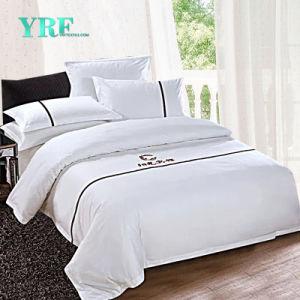 Insieme a buon mercato 100% del coperchio del Duvet delle tele di base della lamiera piana del lenzuolo dell'assestamento dell'hotel del cotone di Yrf