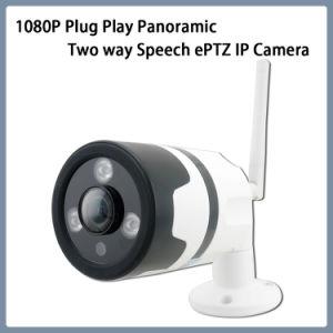 Spiel-panoramische bidirektionale StimmenEptz IP-Kamera des Stecker-1080P