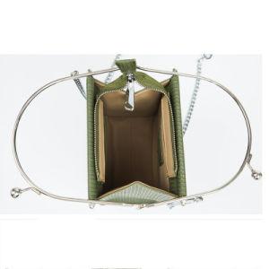 Form-Entwurf spezieller Beutel-Ketten-Beutel-Rahmen-Beutel der PU-jungen Dame-Crossbody