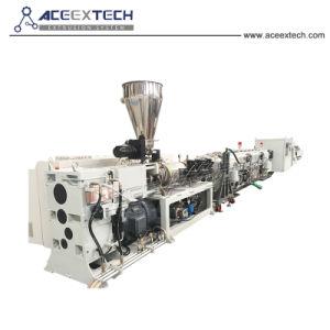 80/156 de la línea de producción de tubería de PVC extrusora
