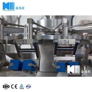 Linea di produzione di coperchiamento di riempimento di lavaggio della macchina della protezione di parte superiore della bottiglia di vetro della bevanda automatica di Sprite