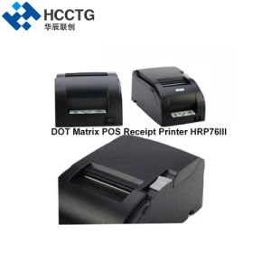 76mm 자동 절단기 POS 열 점 행렬 인쇄기 (HRP76III)