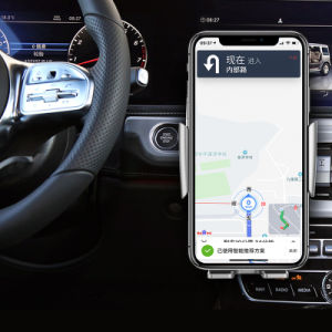 Top Seller Cargador de coche inalámbrica automática de montaje para iPhone/Samsung Galaxy/Huawei