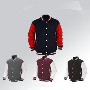 Logo personnalisé Service OEM Fashion Vêtements Vêtements en denim Vêtements Outdoor veste de baseball d'hiver ordinaire pour l'homme