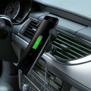 到着携帯用力バンクのチーの新しい無線充電器の速い充満立場