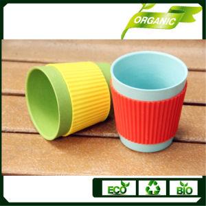 Popular Juego de vajilla de taza de café de bambú Biodegradable/placa