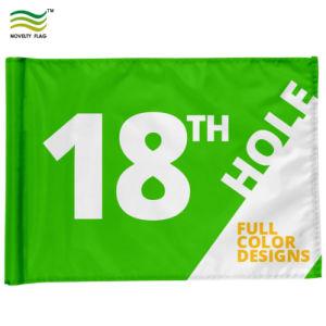 주문 옥스포드에 의하여 뜨개질을 하는 폴리에스테 골프 깃발 및 폴란드