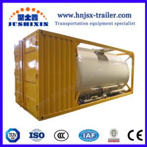 40FT 20FT 26CBM ISO do carvão a granel/cimento/Recipiente do Depósito de Pó Hexafluorophosphate Lítio