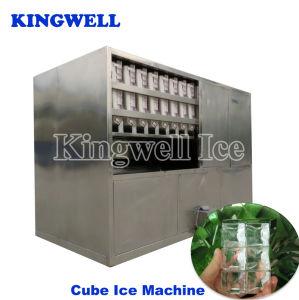 ウィスキーの棒(KW-C2)の三日月形の製氷機のための商業角氷機械