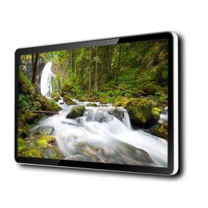 55 polegadas, unidade flash USB ultra painel LCD Vertical Stand Digital Signage da Exibição de Publicidade