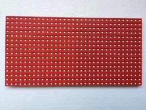 屋外P10赤いカラーLEDスクリーン表示