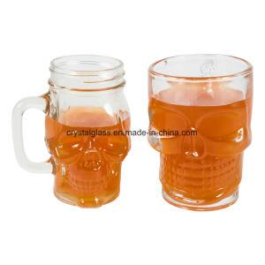 Schädel-geformtes Maurer-Glas