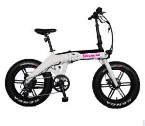 Venda por grosso 13ah bicicleta elétrica dobrável com bateria de lítio ocultos