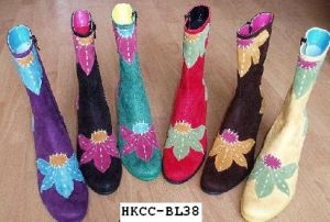 Lady's Fashion bottes (HKCC-BL138)