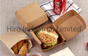 Logotipo personalizado Impreso en Papel Artesanal de Verificación de Hanburger