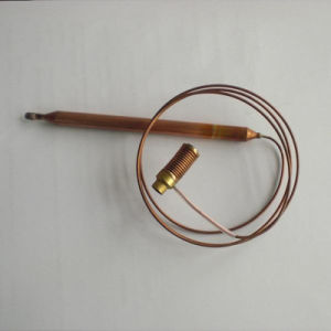 Termóstatos de sensibilidade abaixo do sensor de temperatura da Válvula de Gás